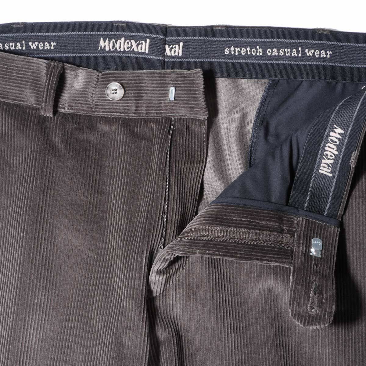 pantalon velours grande taille homme fort marron modexal. Black Bedroom Furniture Sets. Home Design Ideas
