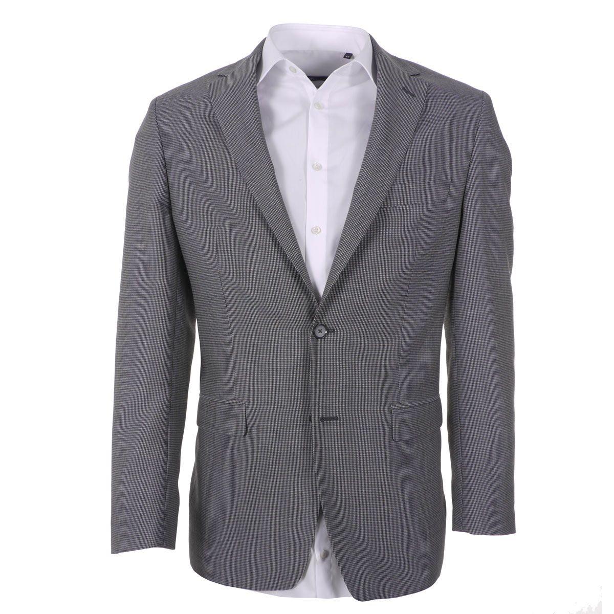 veste grise pour homme grand du 54 au 68 maneven. Black Bedroom Furniture Sets. Home Design Ideas