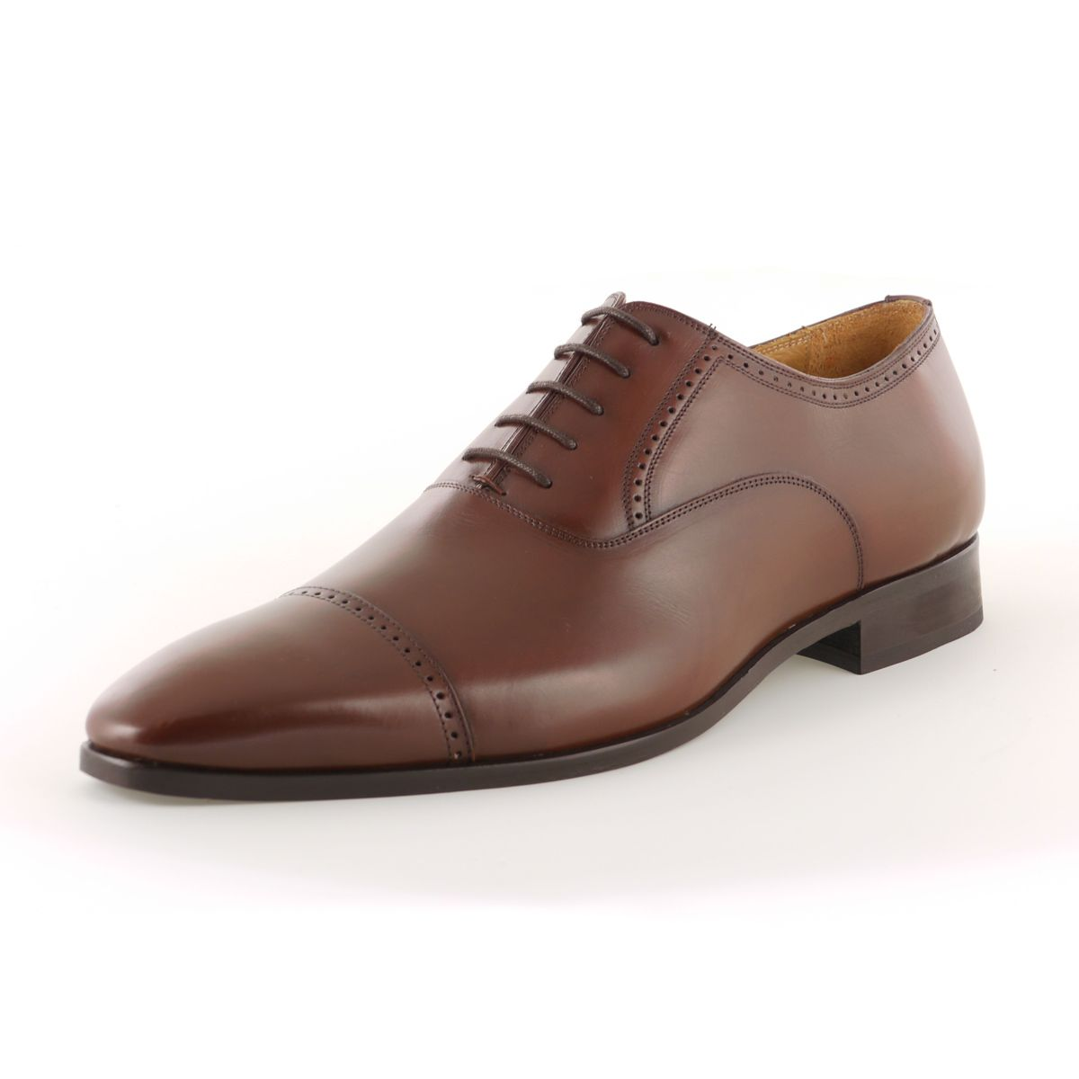 chaussures alain marron en cuir grande taille du 46 au. Black Bedroom Furniture Sets. Home Design Ideas