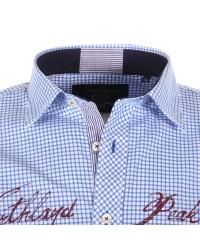 Chemise bleue pour Homme Grand : manches extra-longues