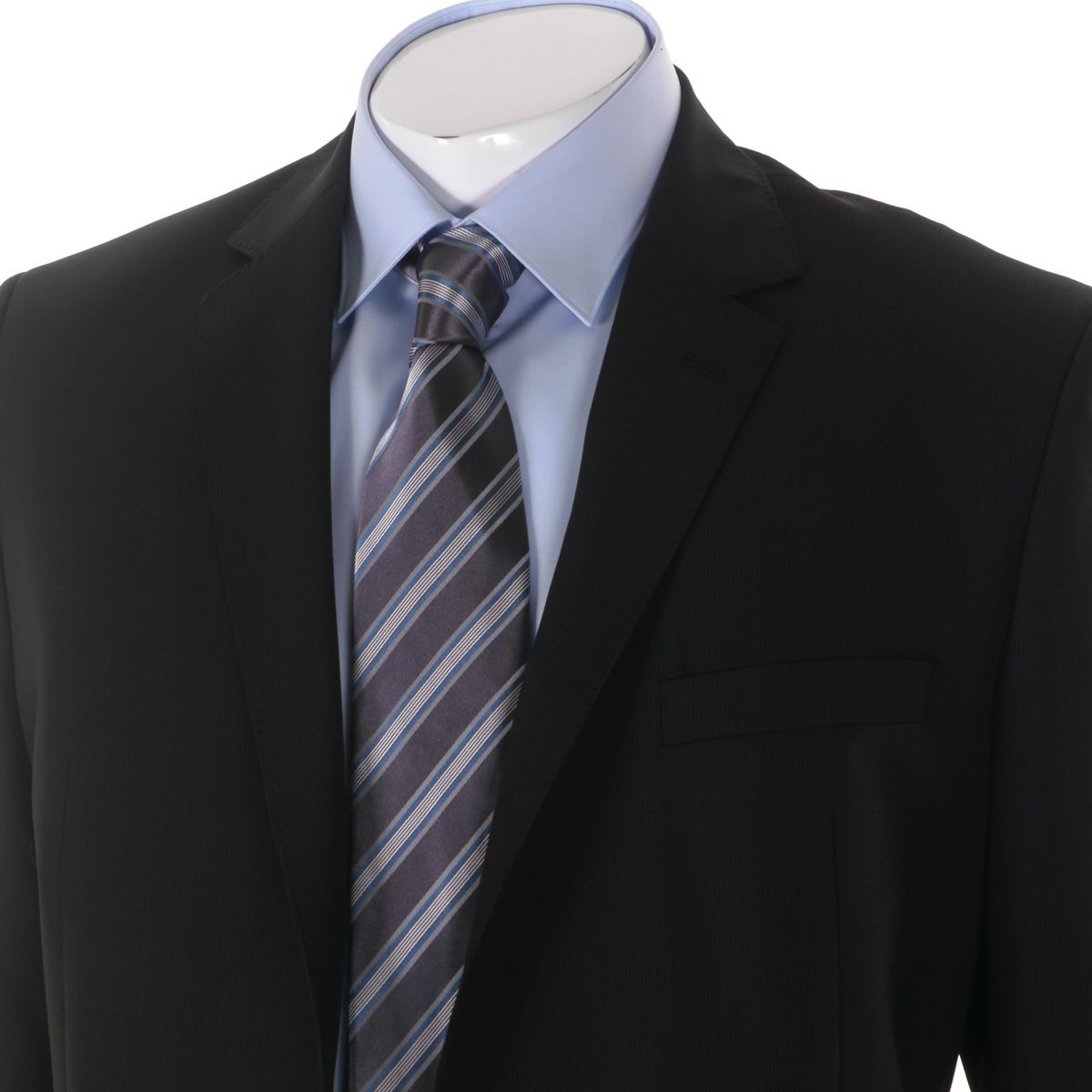 veste de costume excellence noir taille standard jusqu 39 au 74 maneven maneven. Black Bedroom Furniture Sets. Home Design Ideas