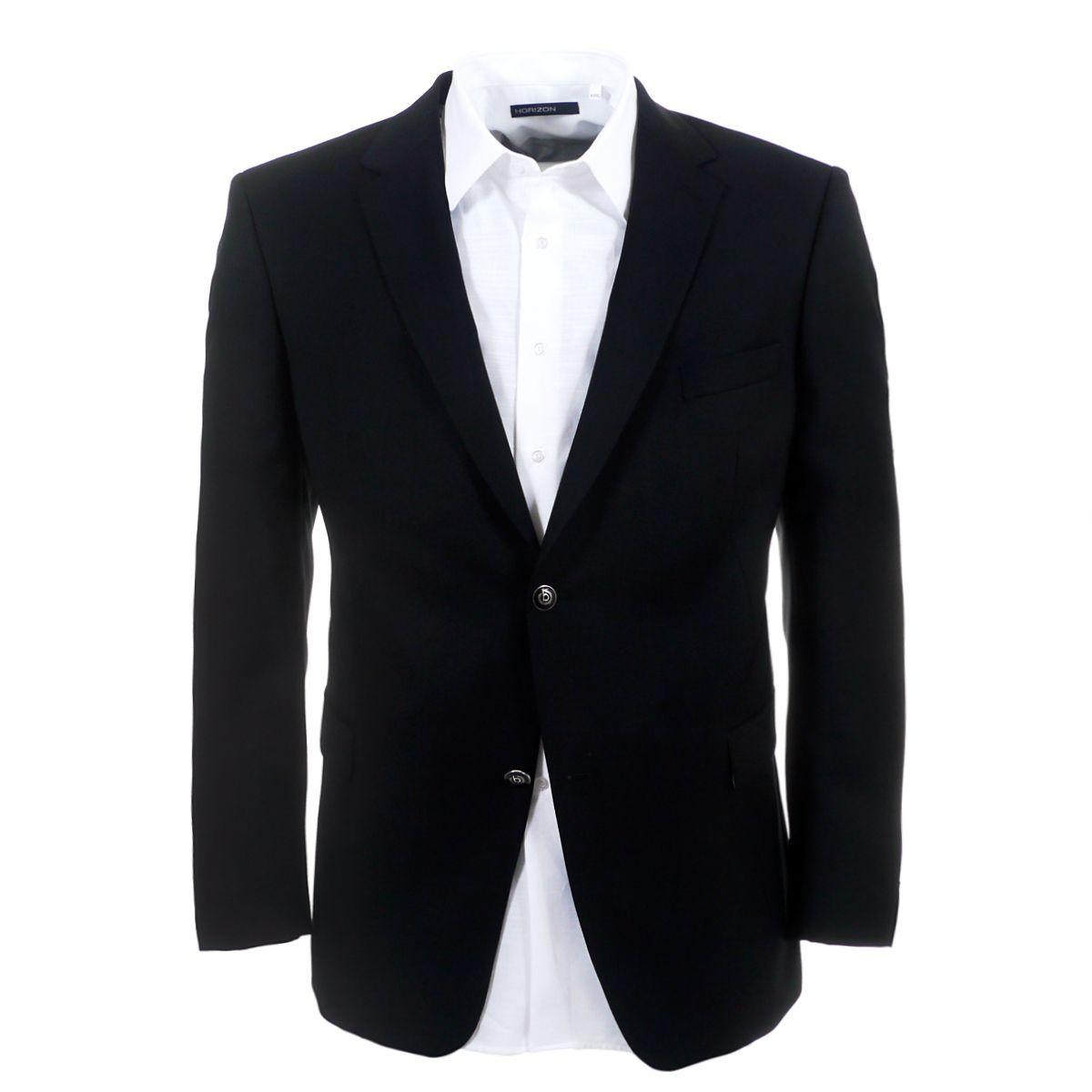 blazer noir super 100 39 s pour homme fort jusqu 39 au 72 size factory bugatti. Black Bedroom Furniture Sets. Home Design Ideas