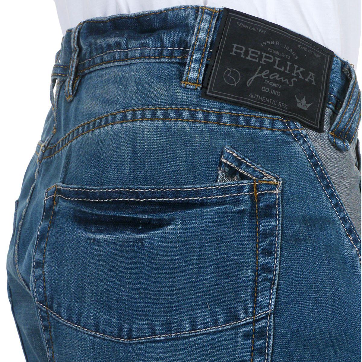 jeans bleu d lav taille basse grande taille jusqu 39 au. Black Bedroom Furniture Sets. Home Design Ideas