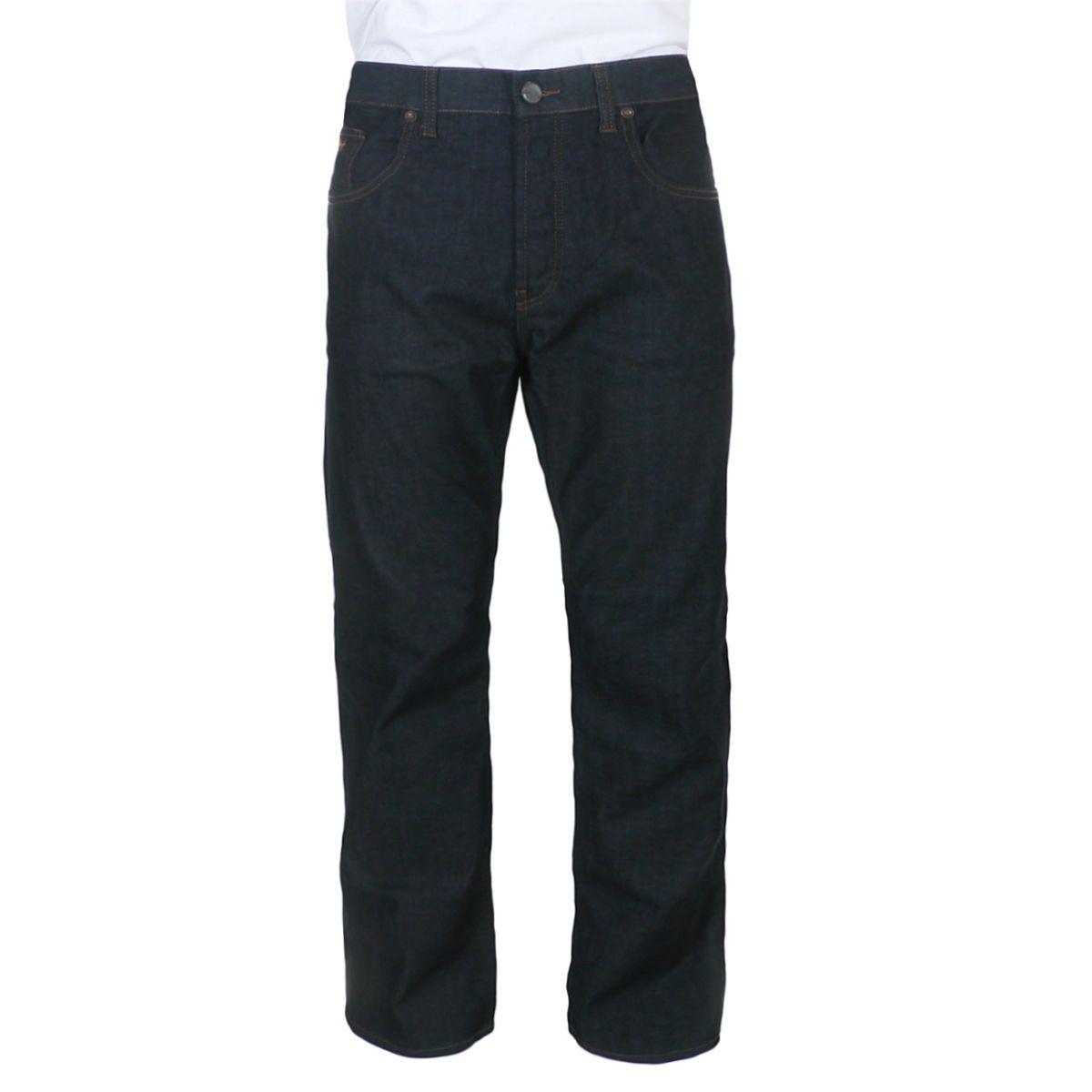 jeans bleu fonc pour homme fort du 40us au 50us. Black Bedroom Furniture Sets. Home Design Ideas