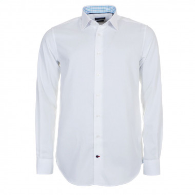 Chemise Blanche : manches extra longues 69 cm