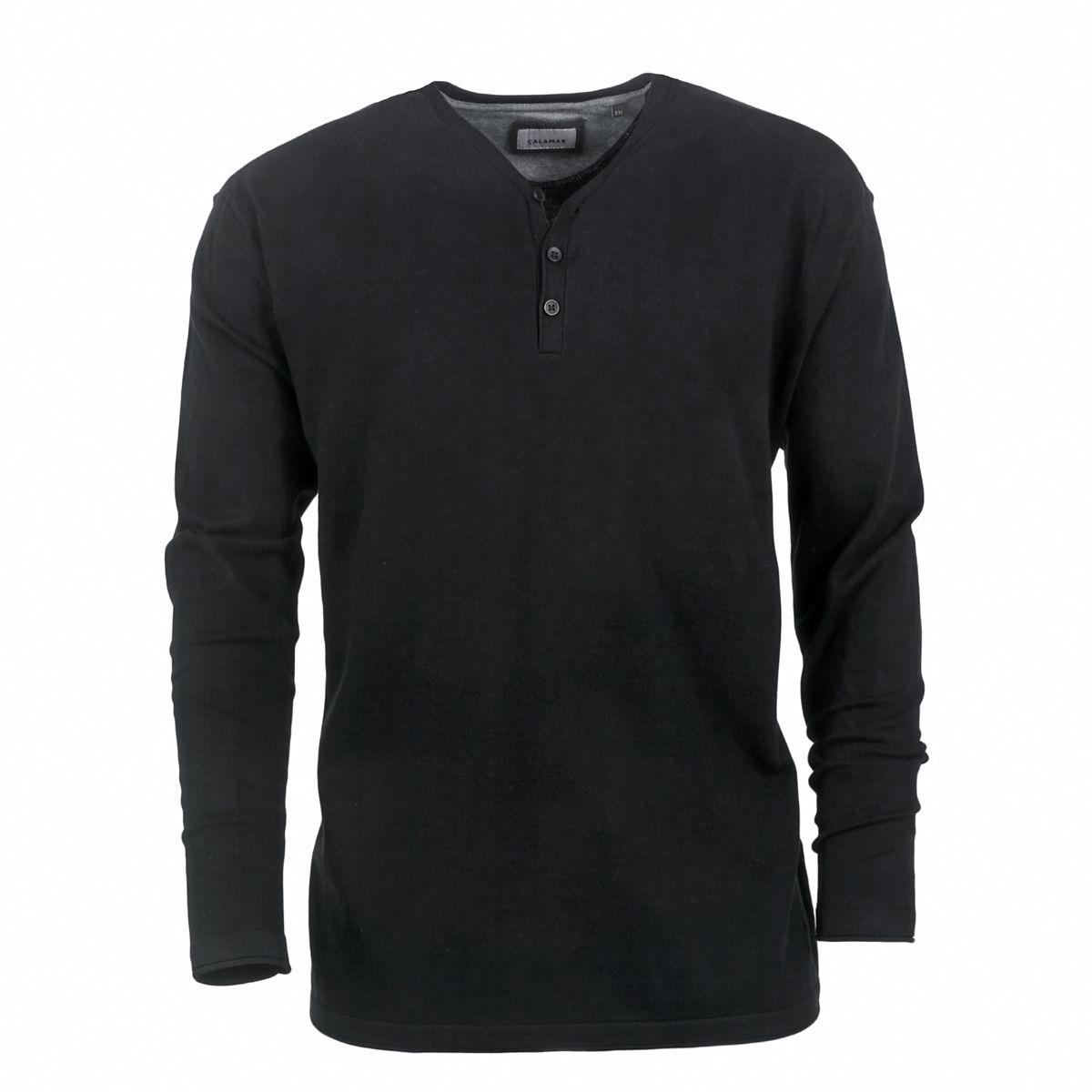 t shirt manches longues noir grande taille du 2xl au 3xl. Black Bedroom Furniture Sets. Home Design Ideas