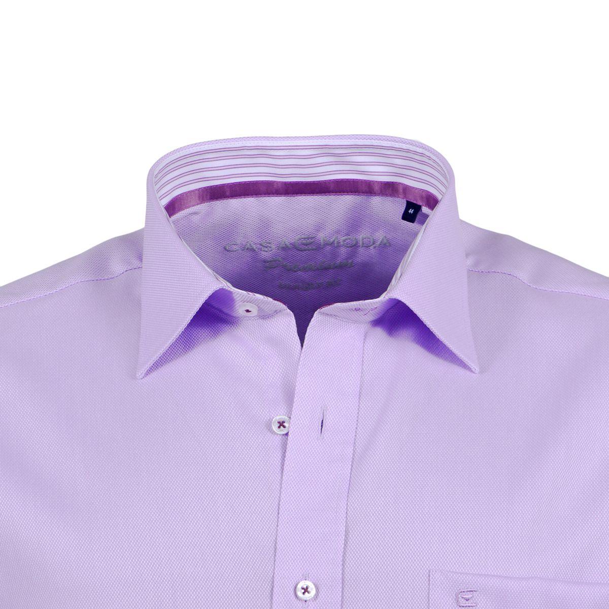 chemise violette grande taille du 44 xl au 54 6xl size factory casa moda. Black Bedroom Furniture Sets. Home Design Ideas