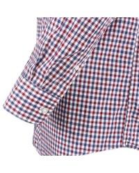 Chemise rouge burgundy: grande taille du 3XL au 5XL