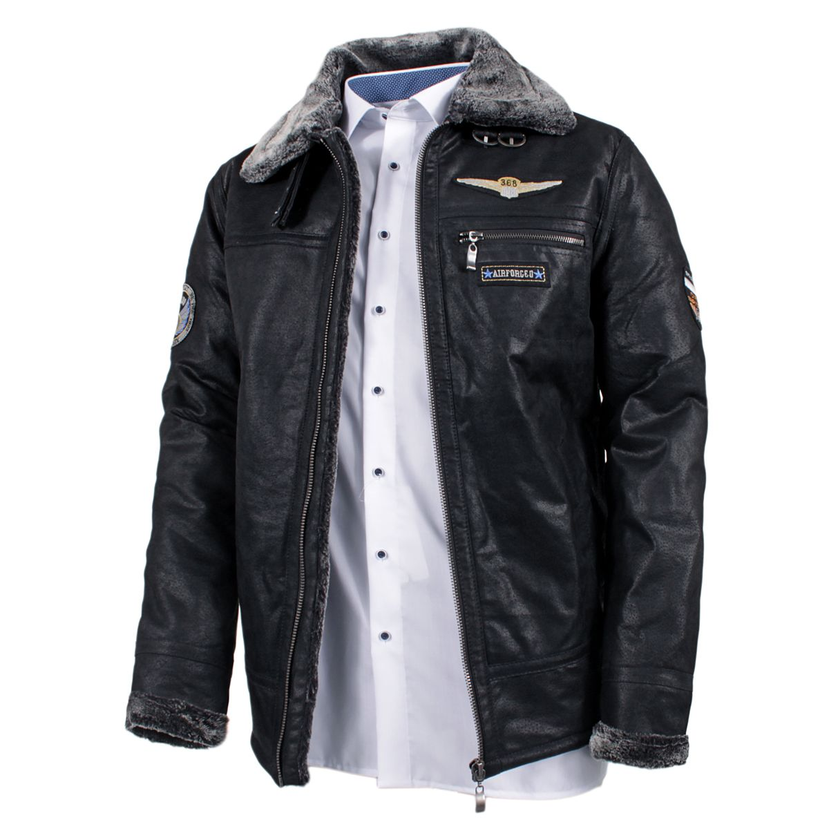102 blouson cuir homme aviateur aviation flight jackets cockpit usa ex avirex man blouson. Black Bedroom Furniture Sets. Home Design Ideas