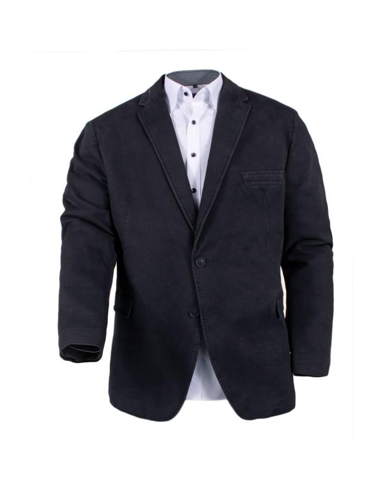 Veste en coton grise: grande taille du 60 au 84
