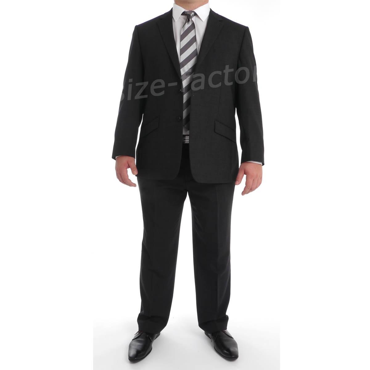 Costume grande taille homme gris skopes car interior design - Costume gris fonce ...