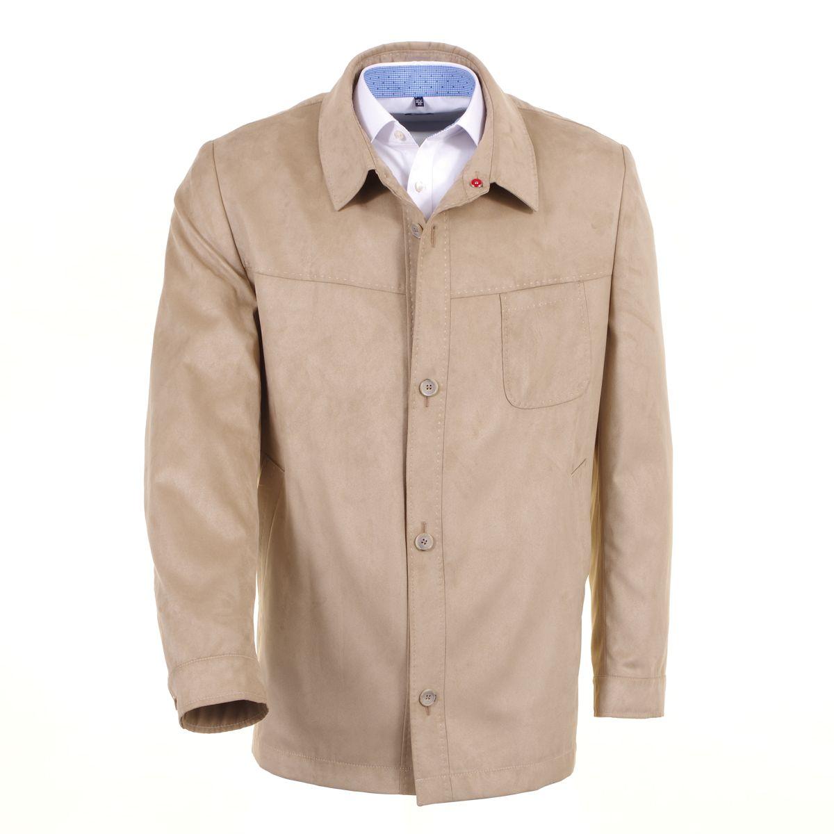 veste skintex sur chemise beige grande taille jusqu 39 au 72 size factory maneven. Black Bedroom Furniture Sets. Home Design Ideas