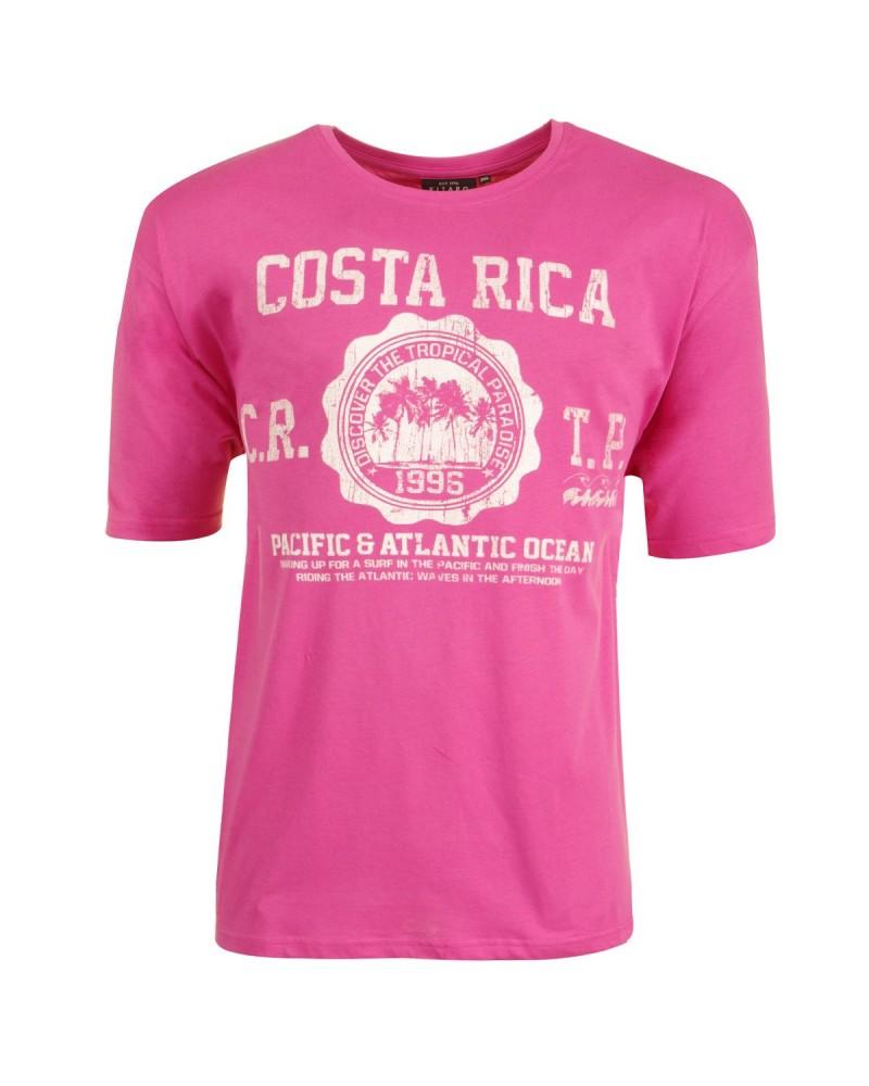 T-shirt rose grande taille: du 2XL au 8XL