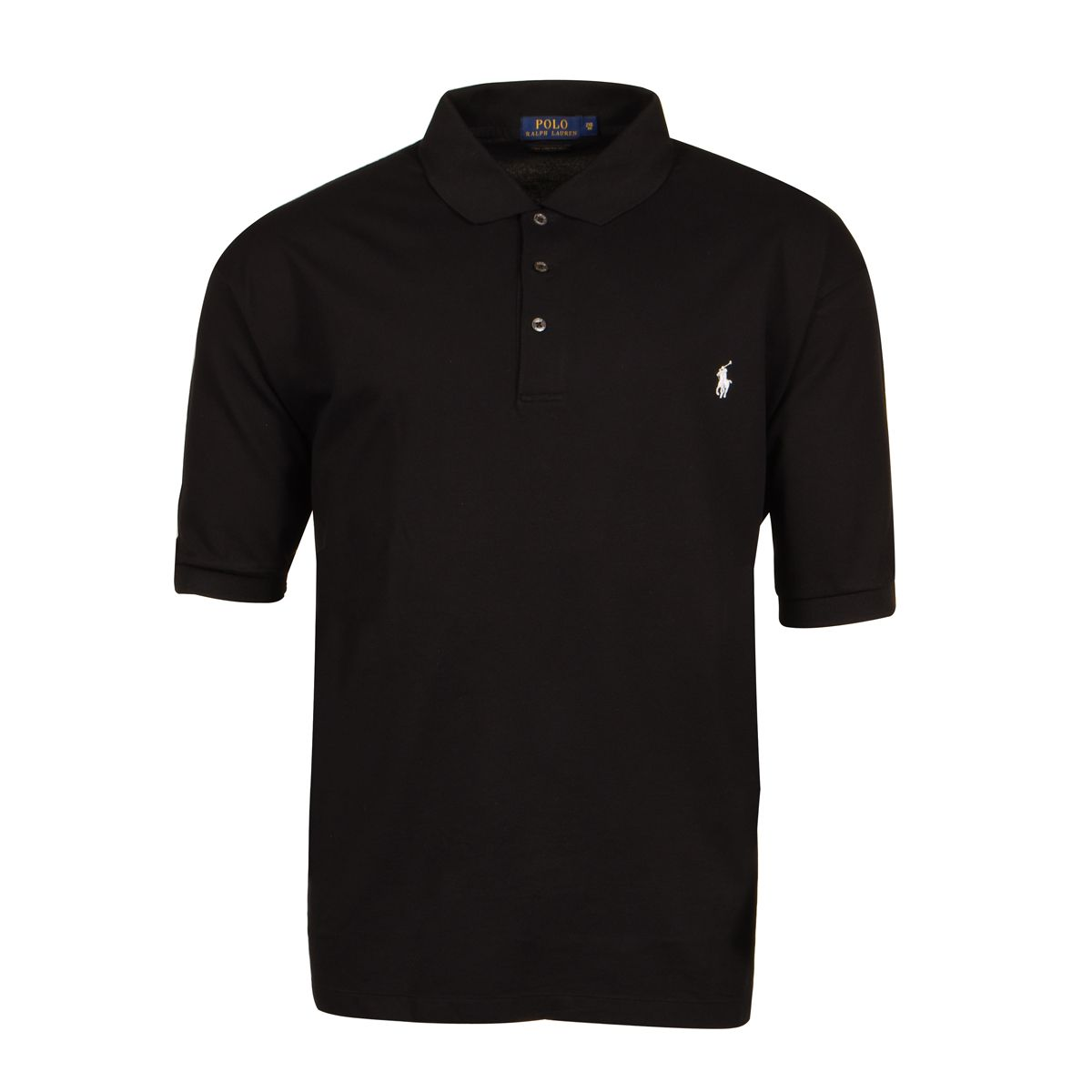 Polo noir grande taille du 2xl au 6xl size factory for 6xl ralph lauren polo shirts