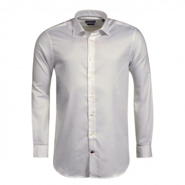 Chemise Oxford blanche: manches extra-longues 69cm