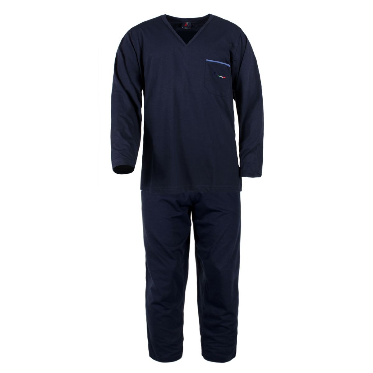 pyjama bleu grande taille du 3xl au 10xl maxfort maxfort. Black Bedroom Furniture Sets. Home Design Ideas