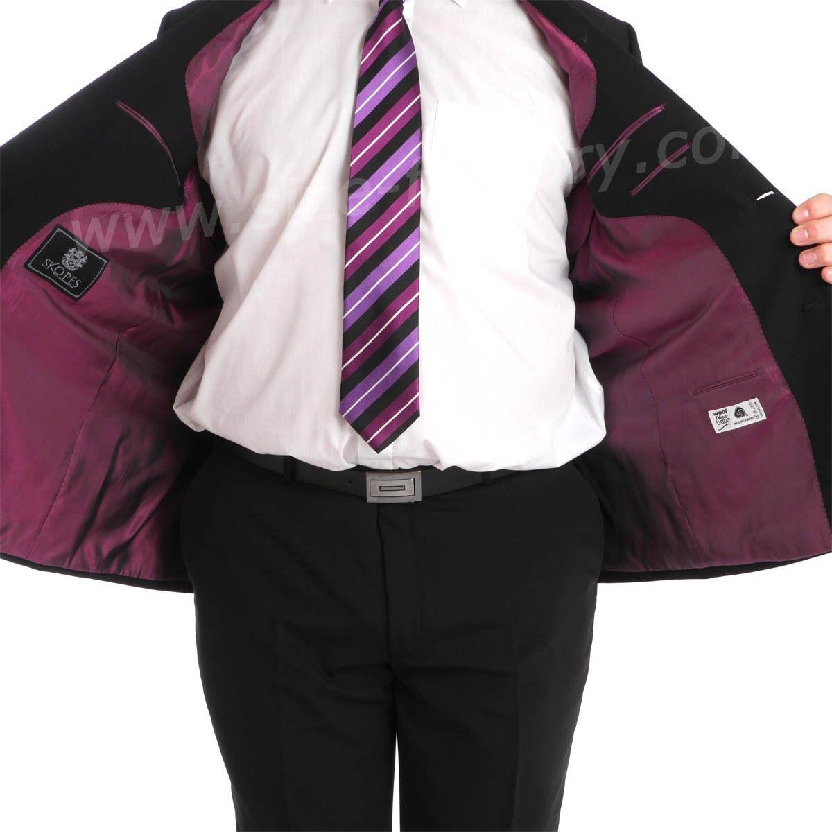 costume grande taille noir classic pour homme fort nouveau size factory skopes. Black Bedroom Furniture Sets. Home Design Ideas
