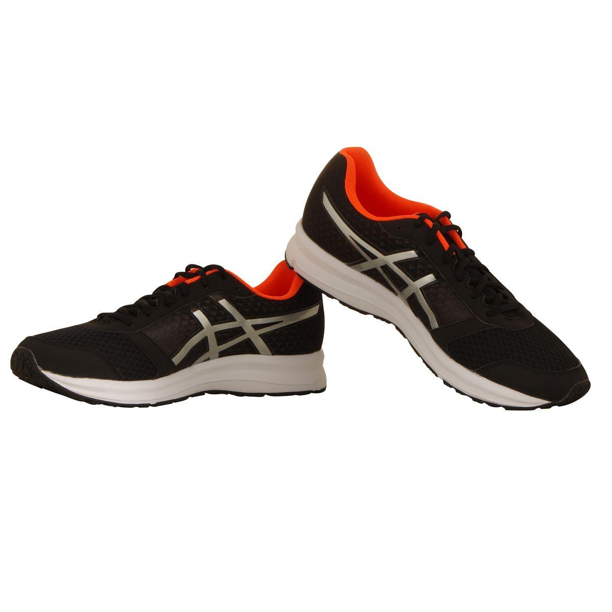 chaussures patriot 8 noir int rieur orange grande taille. Black Bedroom Furniture Sets. Home Design Ideas