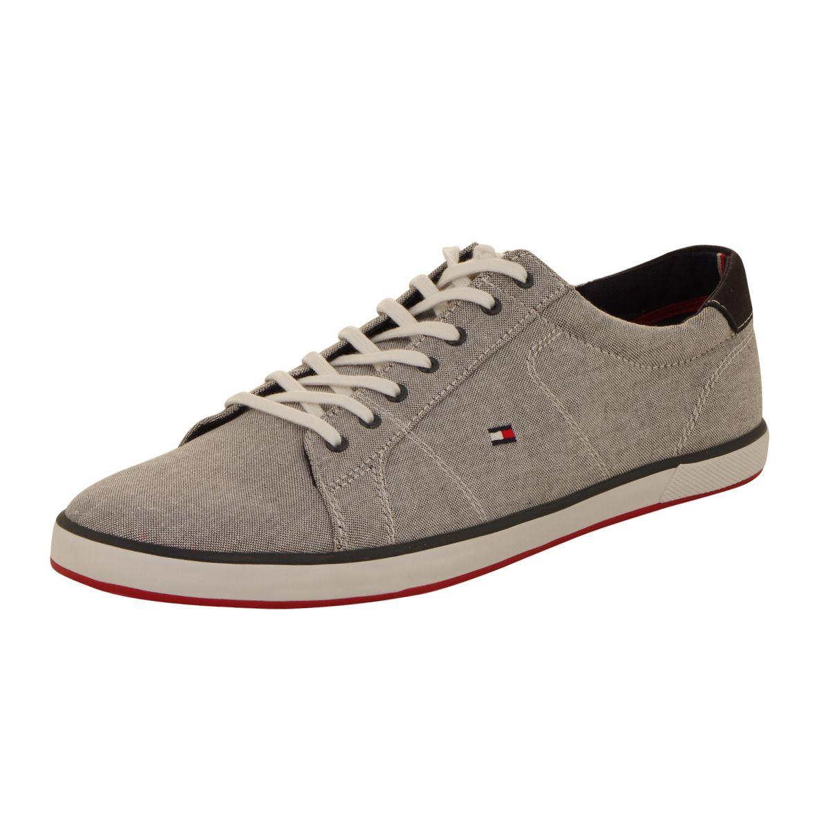 chaussures sneackers grises grande taille du 46 au 48 size factory tommy hilfiger. Black Bedroom Furniture Sets. Home Design Ideas