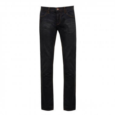Jean stretch Blue Black: grande longueur de jambe 38US