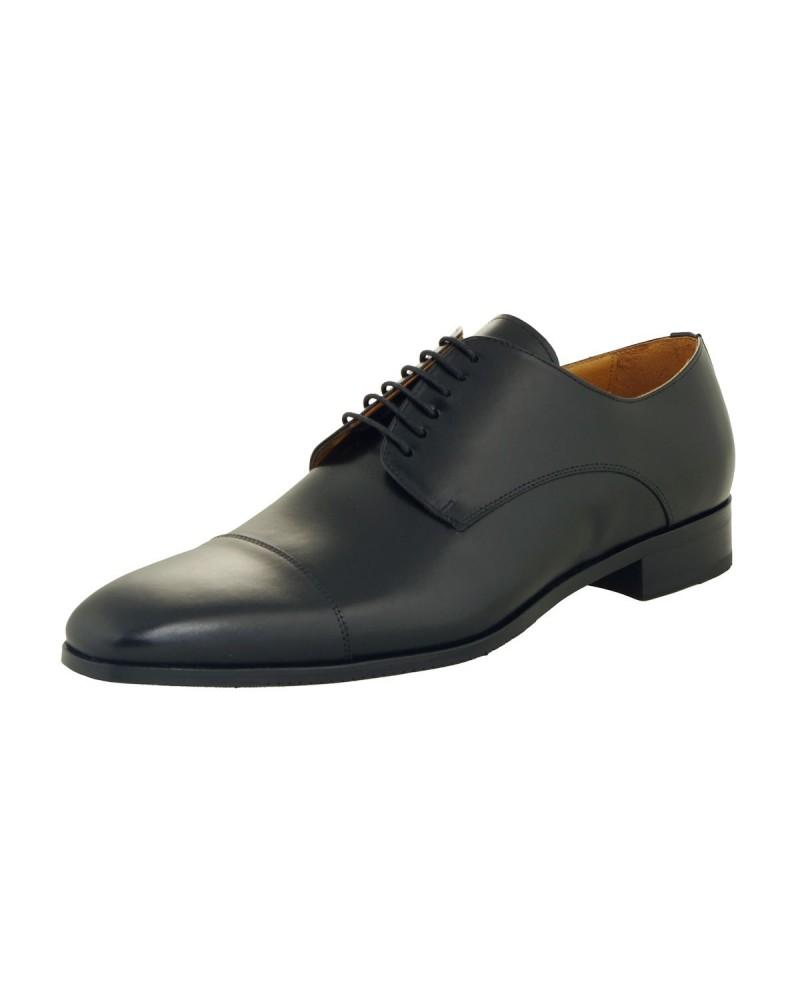 Chaussures derby noires : grande taille jusqu'au 49