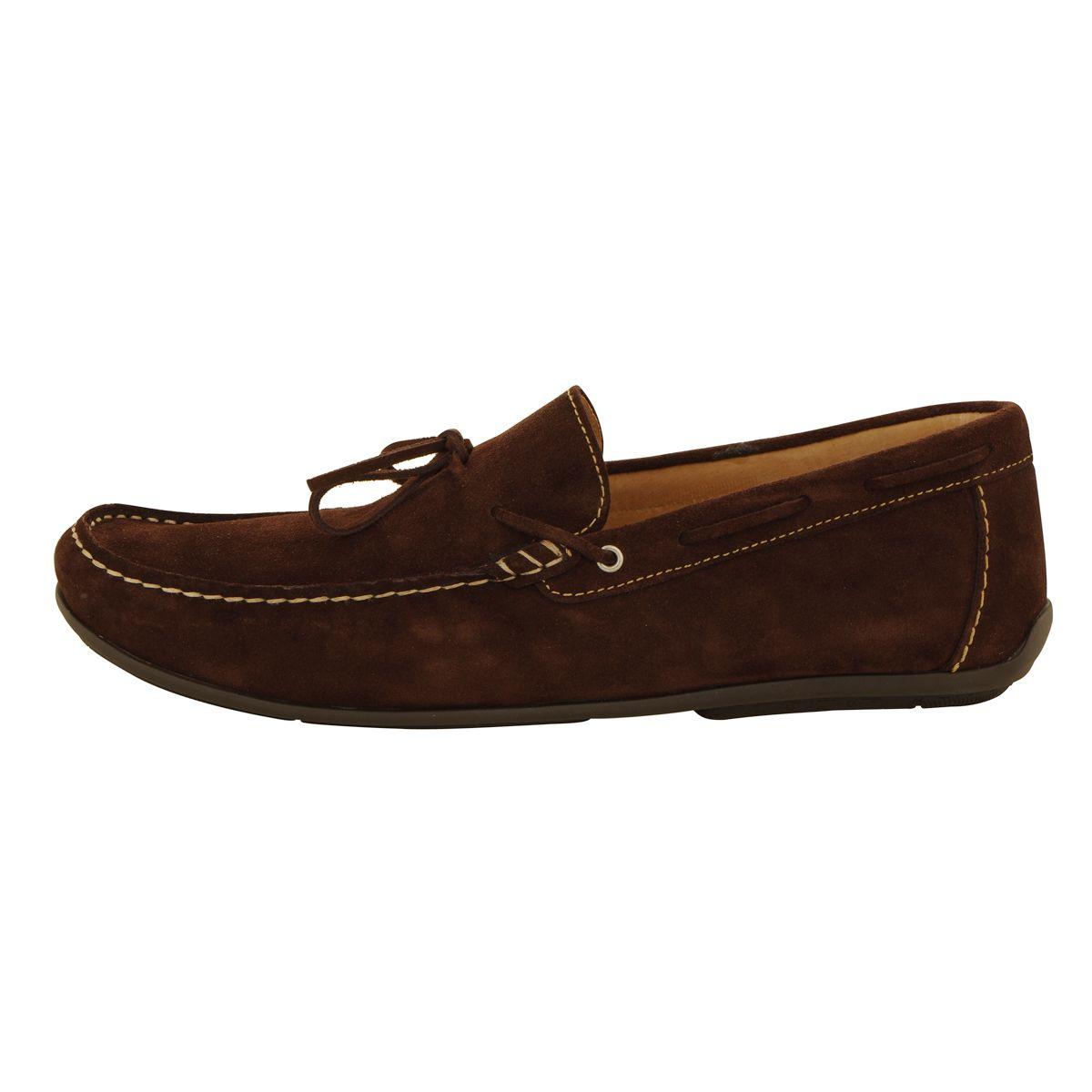 chaussures mocassins marron fonc grande taille jusqu 39 au. Black Bedroom Furniture Sets. Home Design Ideas