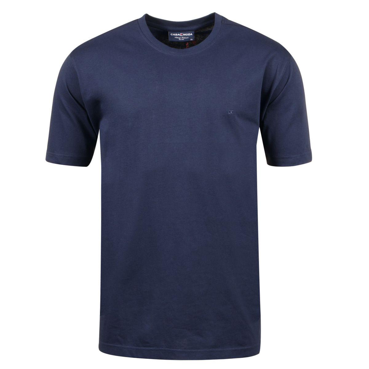 t shirt bleu grande taille du 2xl au 6xl size factory casa moda. Black Bedroom Furniture Sets. Home Design Ideas