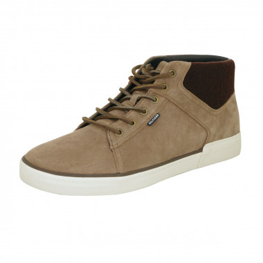 Chaussures sneackers beige: grande taille du 47 au 48