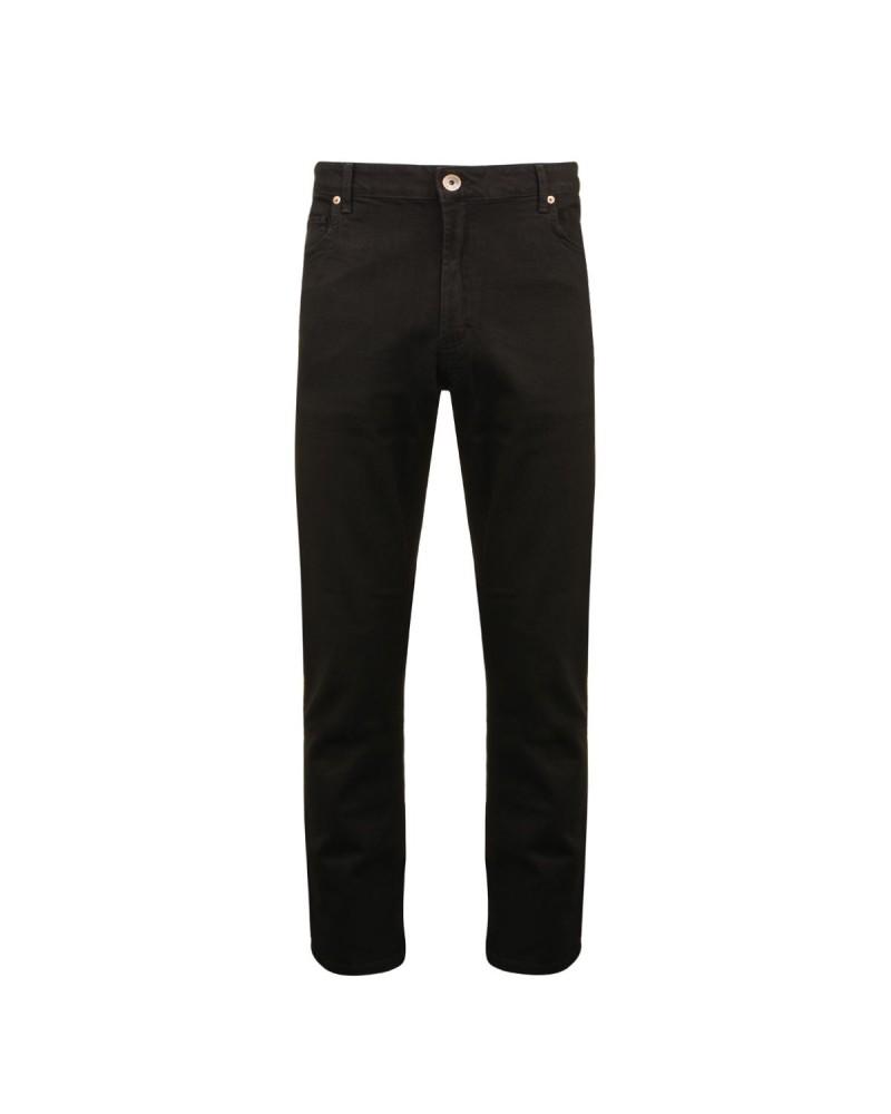 Jean noir: grande longueur de jambe 38US