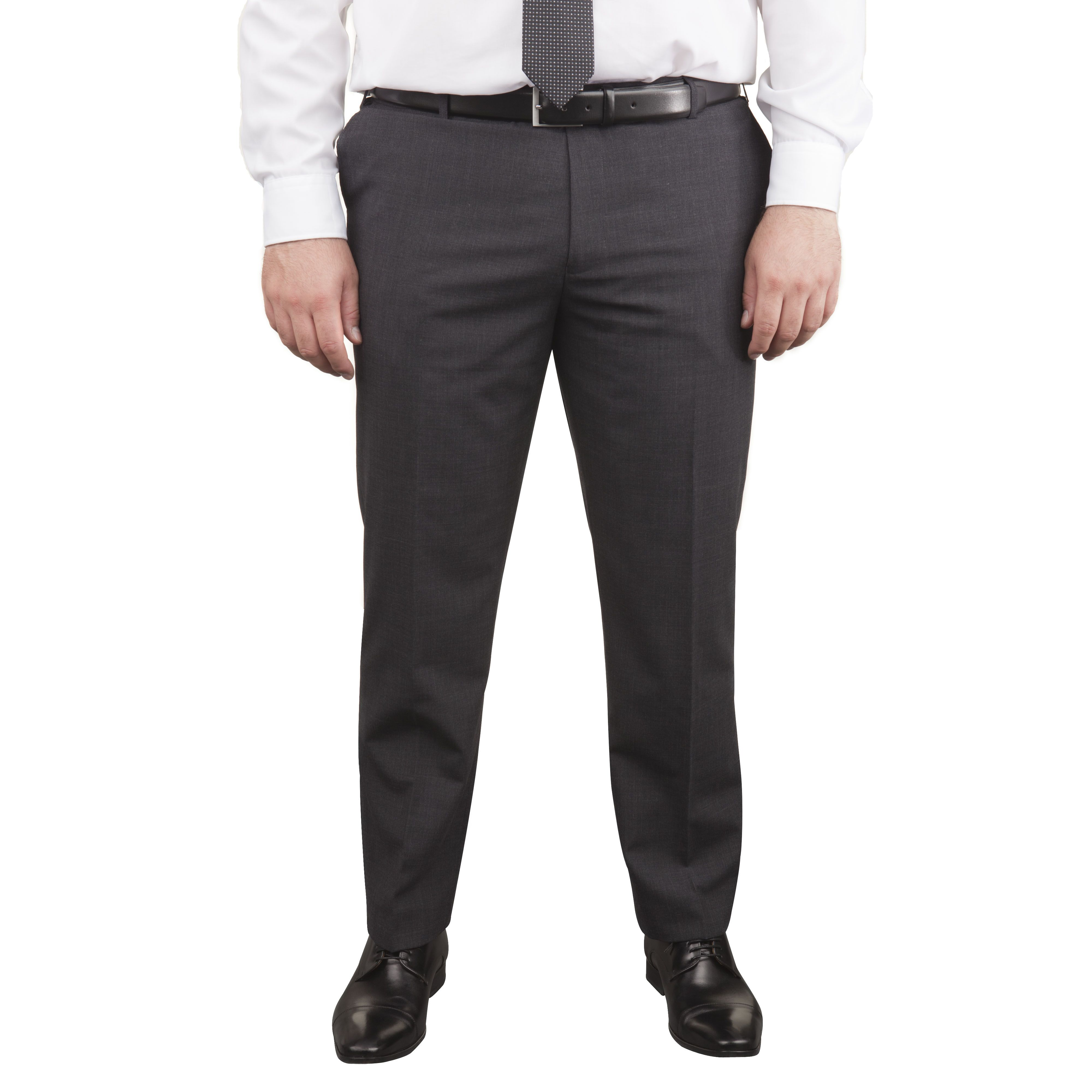 pantalon de costume grande taille classic gris fonc taille courte jusqu 39 au 62 skopes skopes. Black Bedroom Furniture Sets. Home Design Ideas