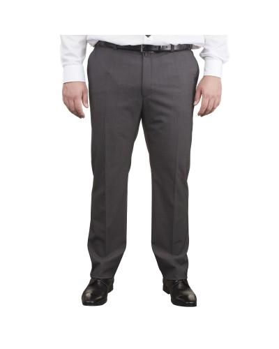 Pantalon de costume anthracite: grande taille jusqu'au 80FR (63US)