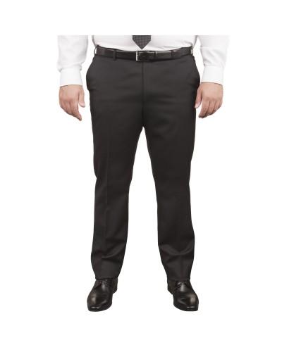 Pantalon de costume Excellence Noir pour homme fort du 52 au 76