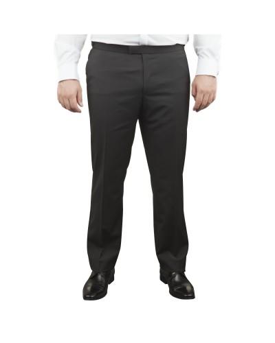 Pantalon de smoking noir avec satin : pour Homme Grand