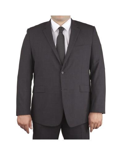 Veste de costume Classic Anthracite pour homme fort du 60 au 78 - Skopes