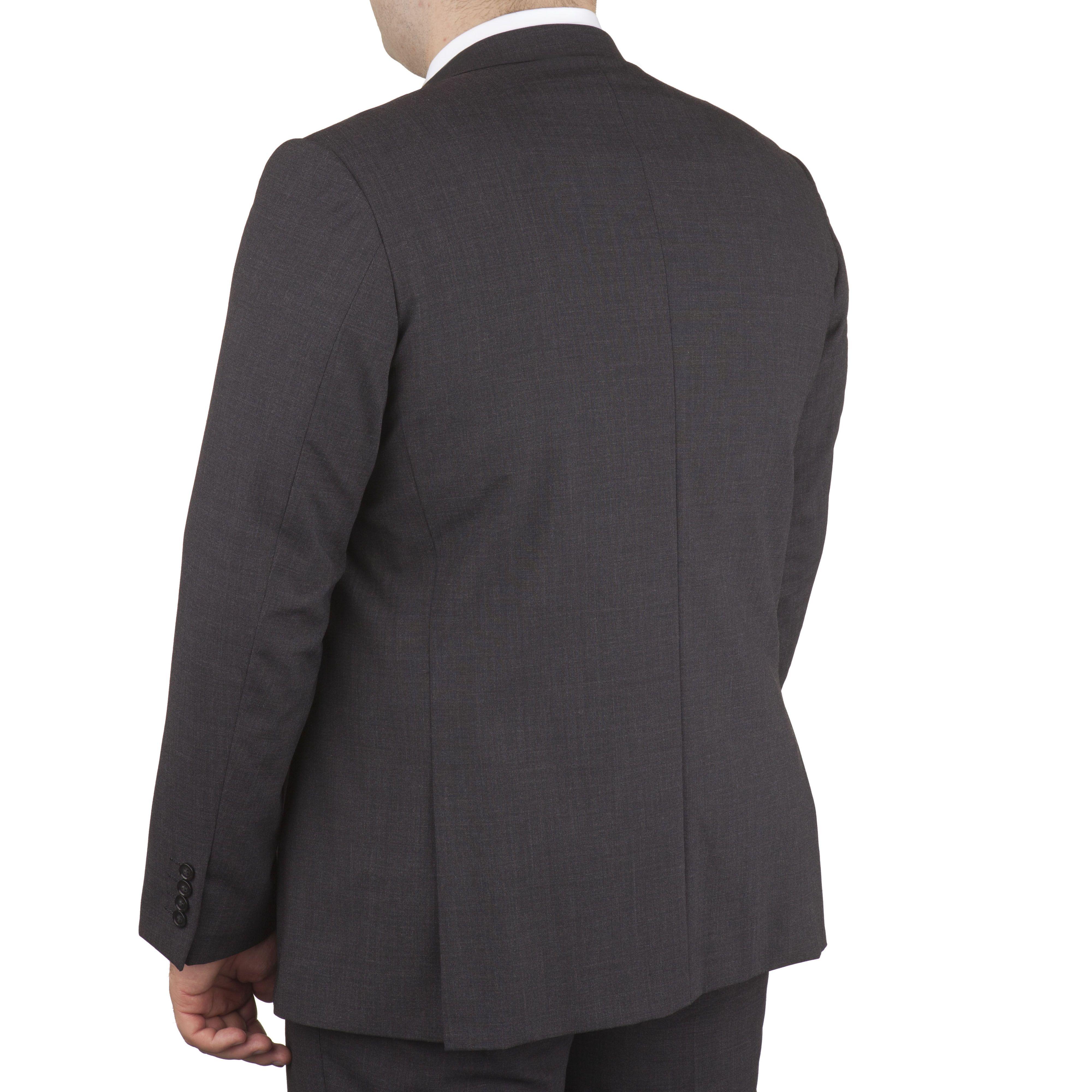veste de costume grande taille classic gris fonc taille courte jusqu 39 au 78 skopes skopes. Black Bedroom Furniture Sets. Home Design Ideas