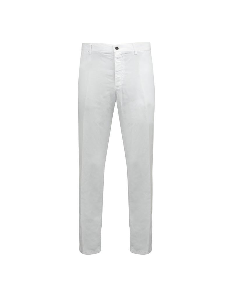 Pantalon tencel lino blanc : grande taille jusqu'au 64FR (50US)