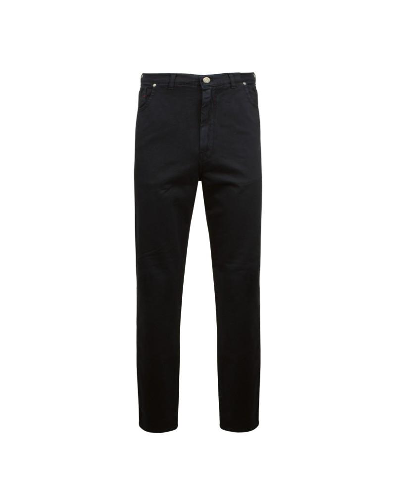 Pantalon 5 poches noir: grande taille jusqu'au 88FR