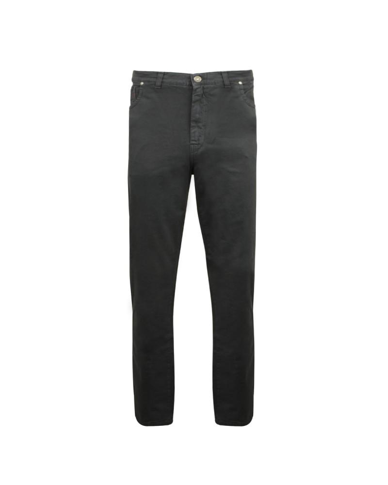 Pantalon 5 poches gris: grande taille jusqu'au 88FR