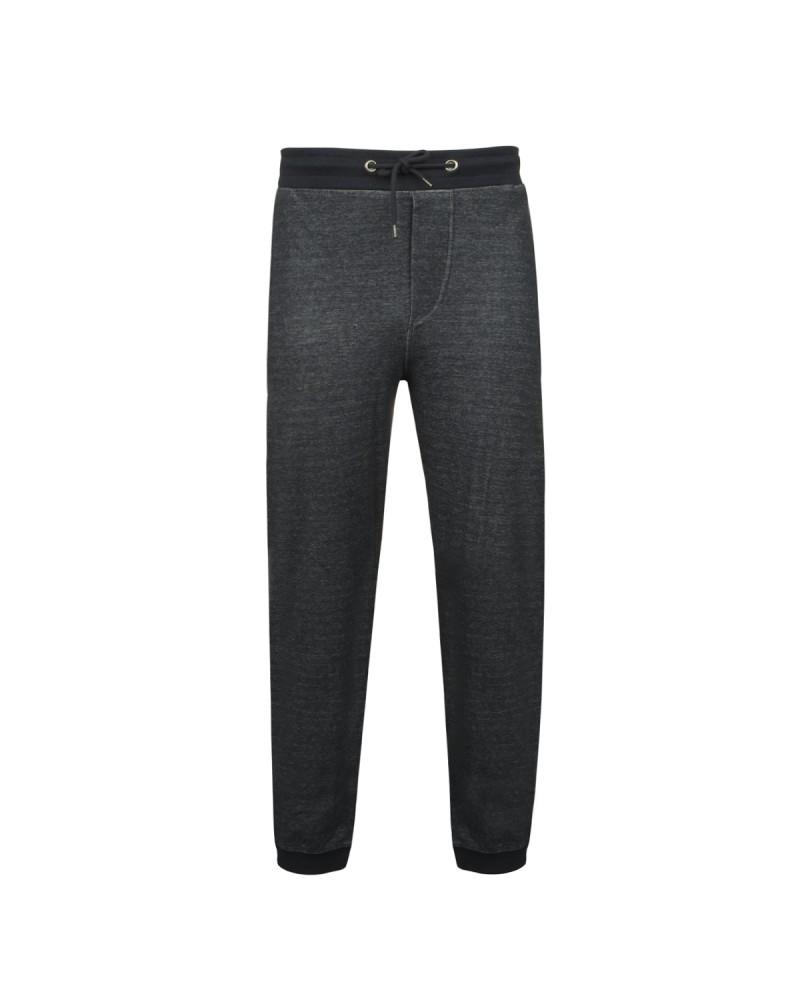 Pantalon de jogging noir: grande taille du 2XL au 8XL