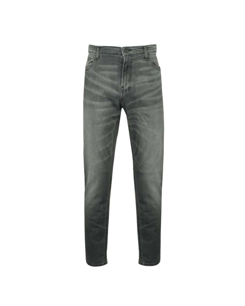Jean gris stone: grande taille jusqu'au 68FR (54US)