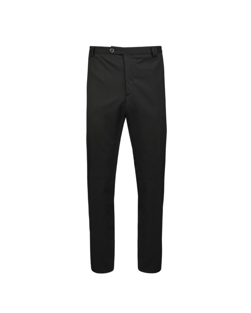 Pantalon ville tergal noir: grande taille jusqu'au 72FR (56US)