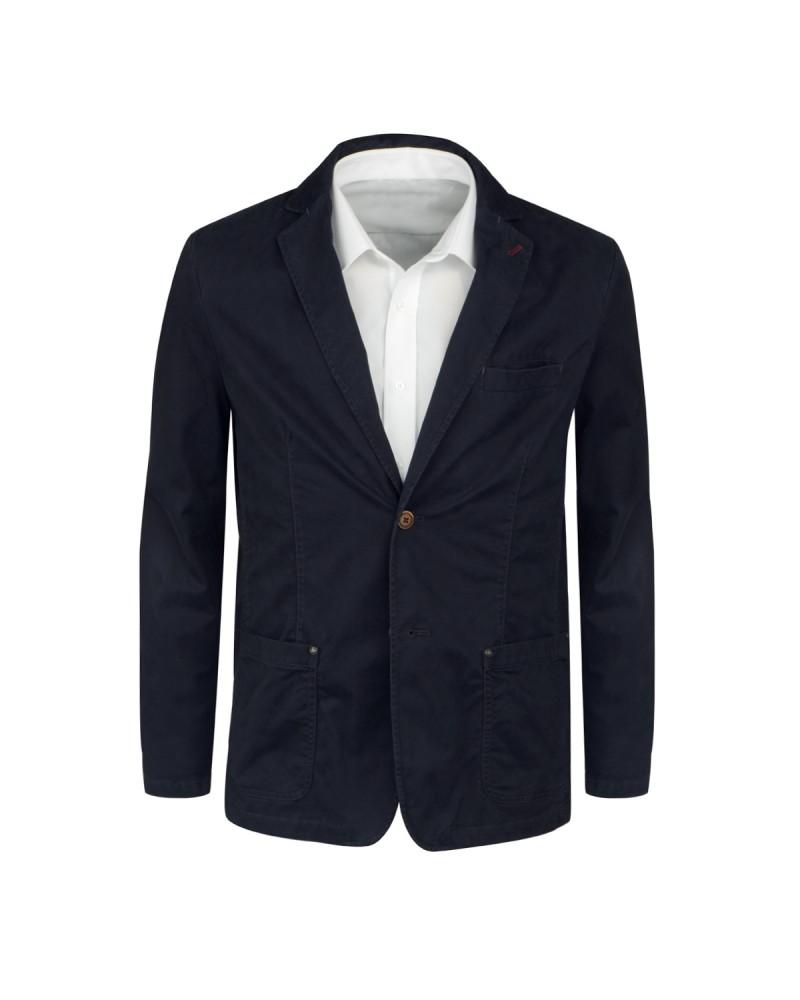 Veste bleu marine pour Homme Grand : du 54 au 60 long