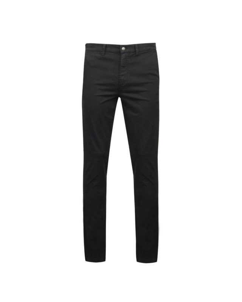 Pantalon chino noir: grande longueur de jambe 38US