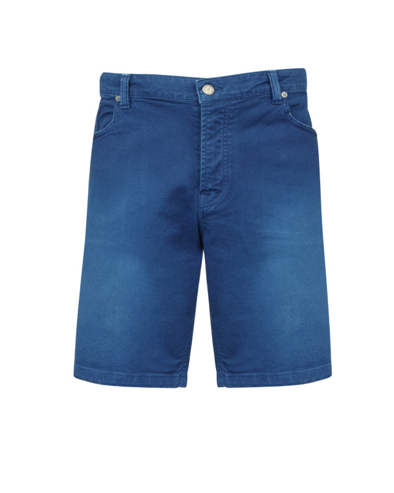 Bermuda en jean bleu: grande taille jusqu'au 62FR (48US)