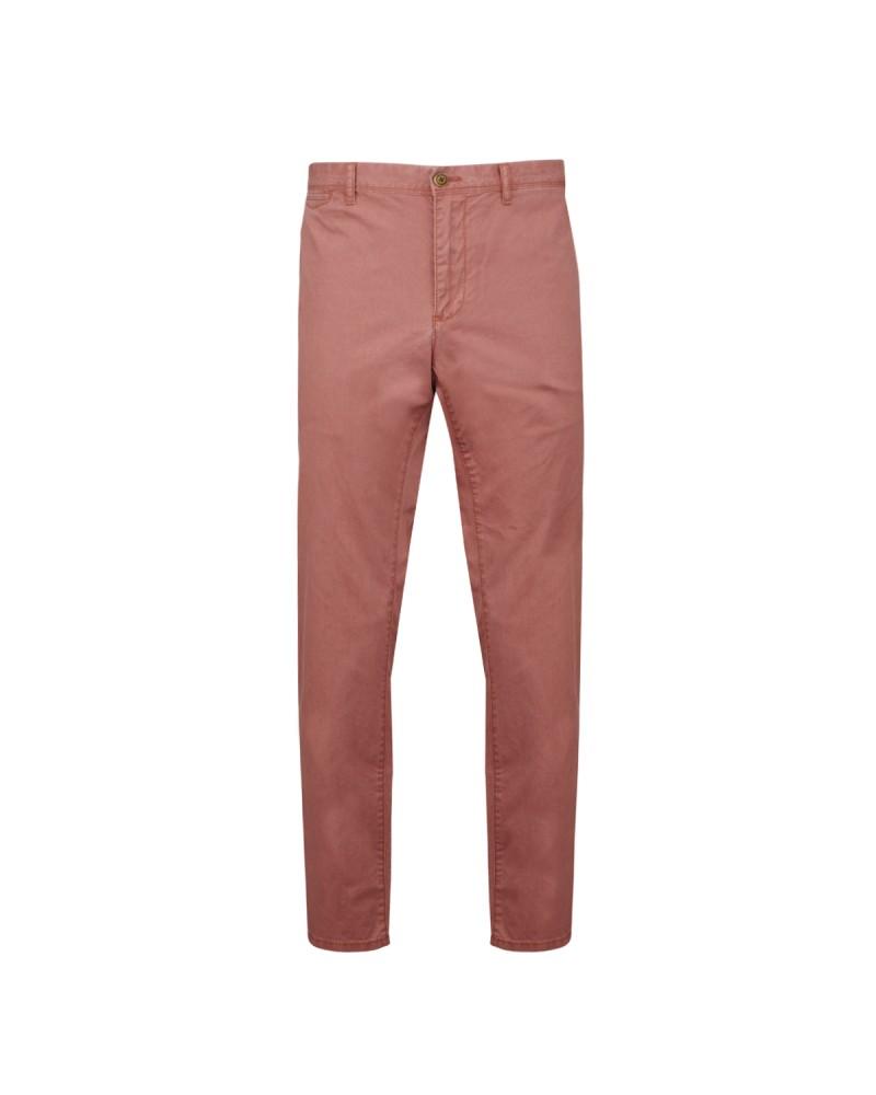 Pantalon chino délavé rose: grande taille jusqu'au 66FR (52US)