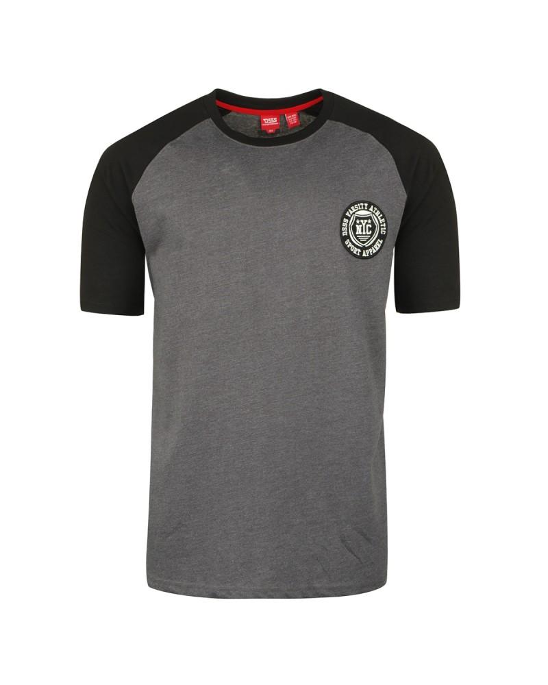 Tee-shirt gris: grande taille du 2XL au 6XL