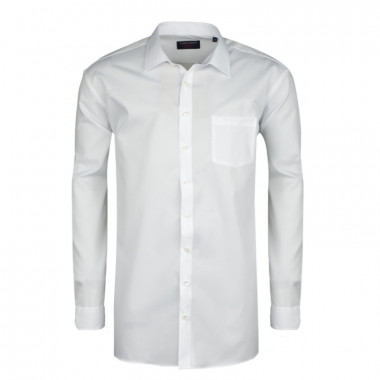 Chemise blanche (Confort Fit)  : manches extra longues 72 cm