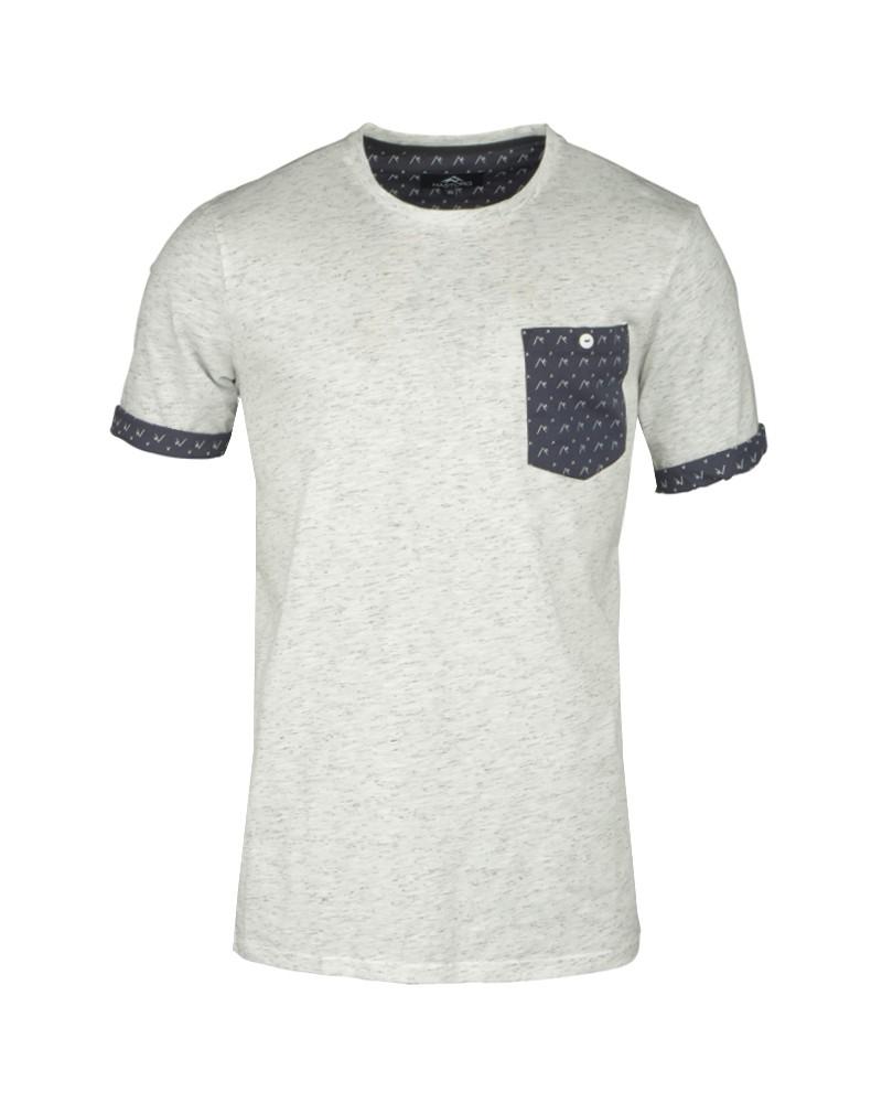 Tee-Shirt bleu écru pour Homme Grand : du M au 2XL