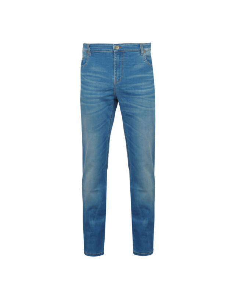 Jean bleu stone: grande taille jusqu'au 68FR (54US)