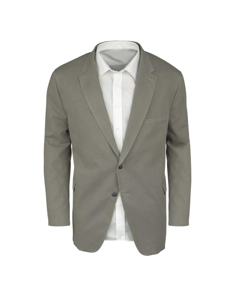 Veste grise: grande taille du 60 au 70